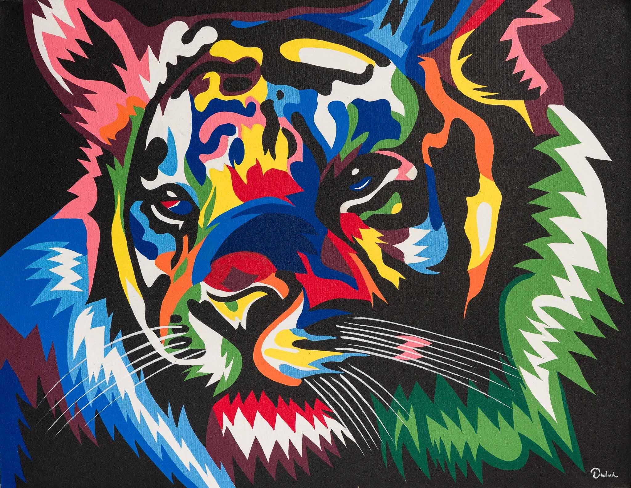 Pop-Art Tiger