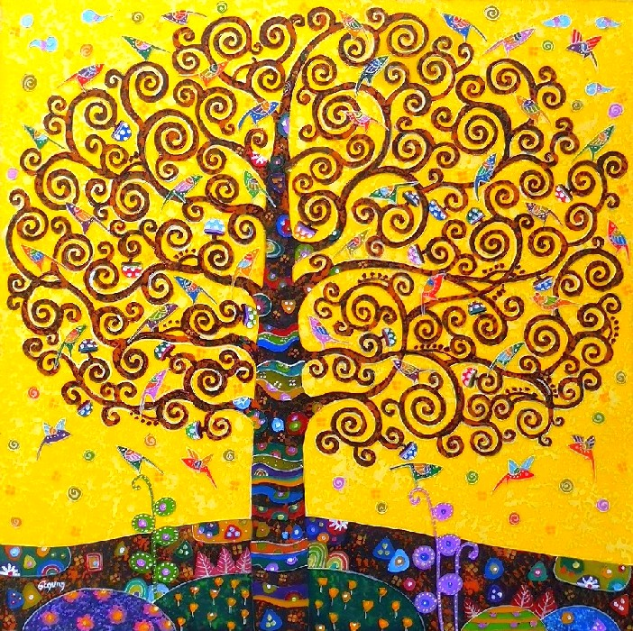 Tree Of Life Yellow