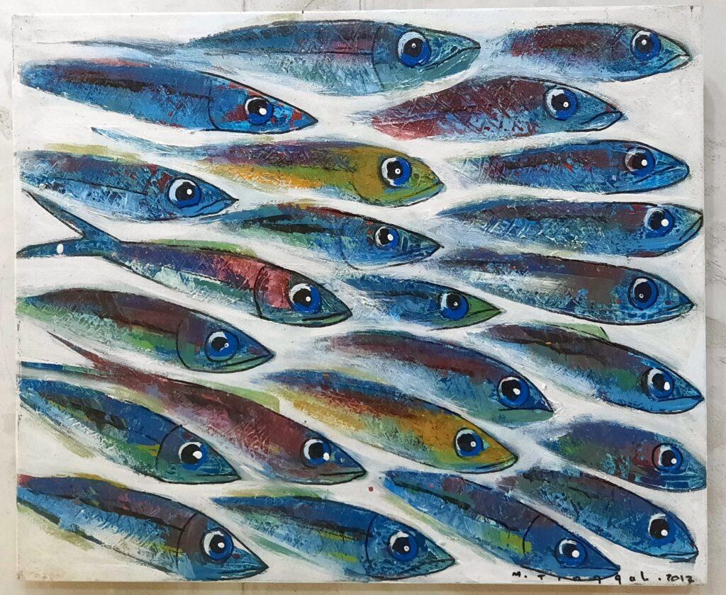 Deep Ocean- School of Fish